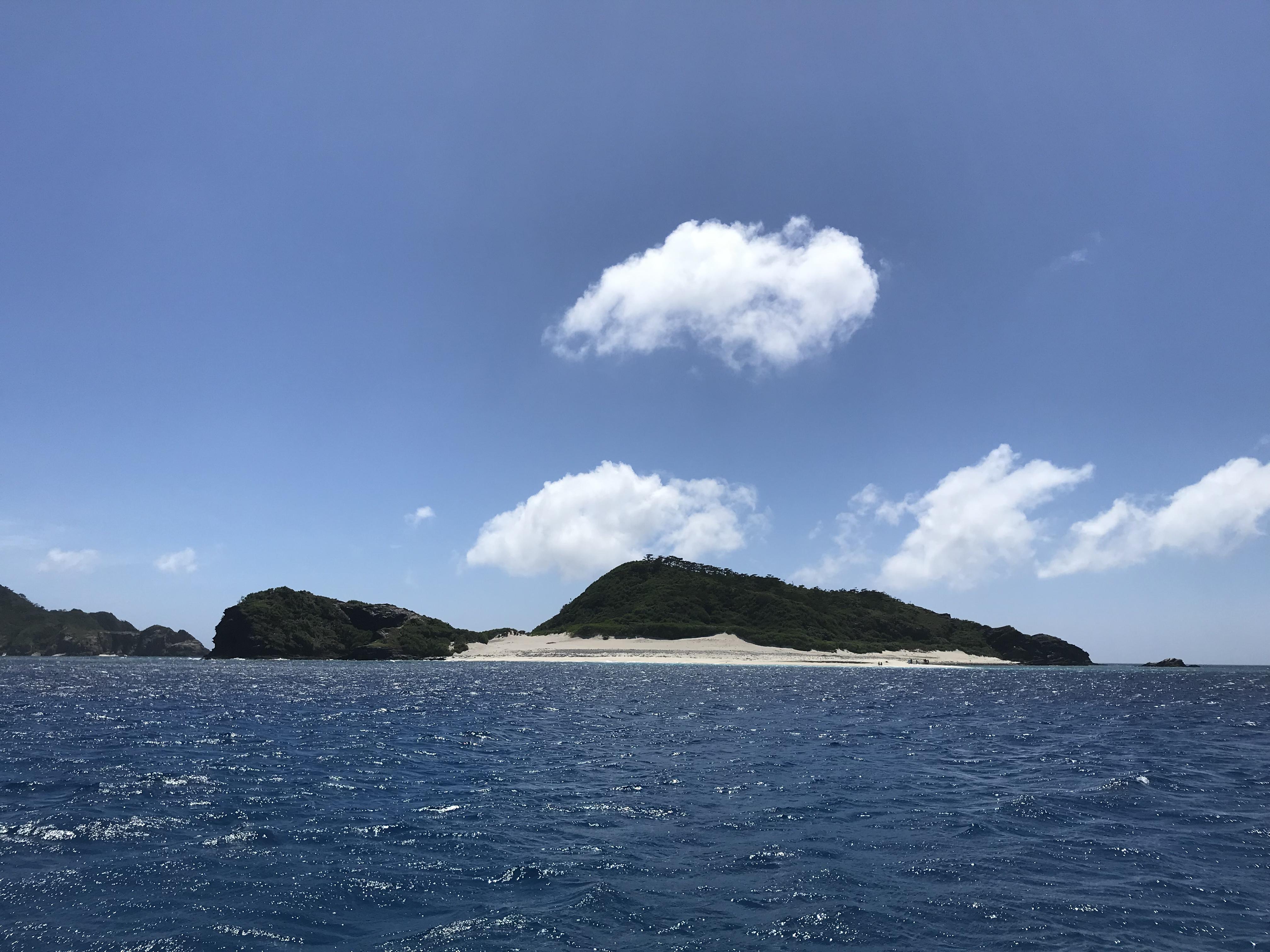 サバニ帆走レース前日の天気(^^)
