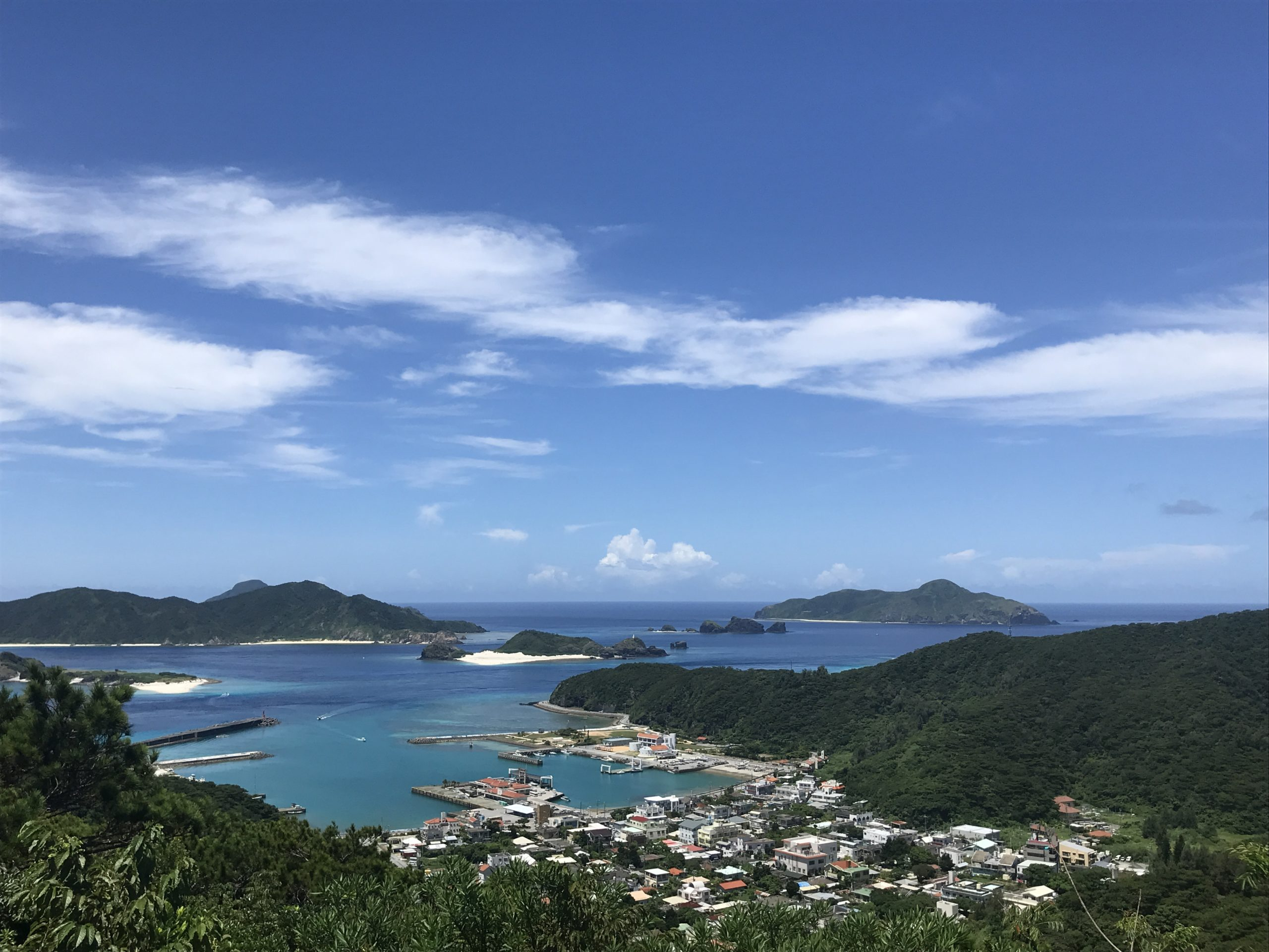 真夏の座間味島☀️